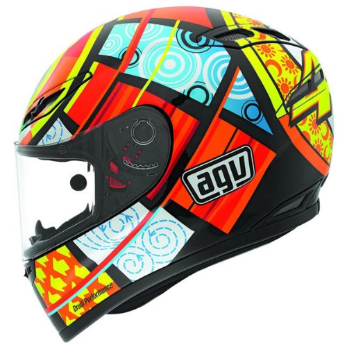 Valentino Rossi Agv Elements Helmet Now Available At Amazon Valentino Rossi Helmets